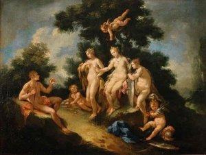 Juicio de Paris. M.Rocca, 1710.