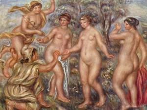 Juicio de Paris, Renoir, 1914.