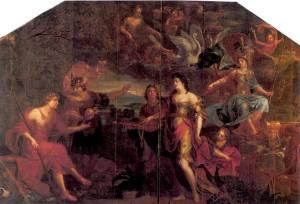 Juicio de Paris, de J.Boeckhorst. 1620 aprox.